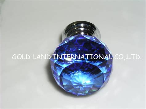 blue glass cabinet knobs d40mm free shipping blue glass kitchen cabinet
