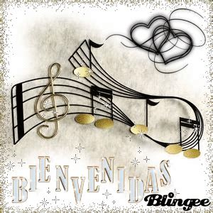 imagenes musicales para compartir fotos animadas bienvenidas notas musicales para compartir