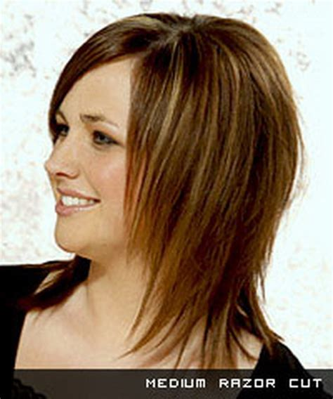 razor cut hairstyles pictures razor layered haircuts