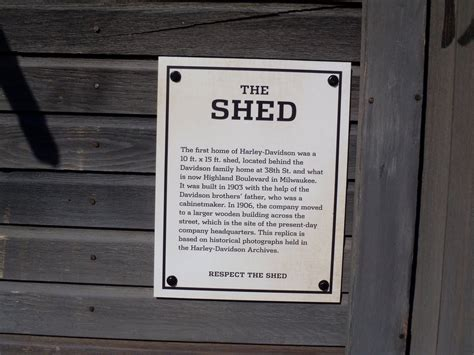 the harley davidson shed info by caveman1a on deviantart