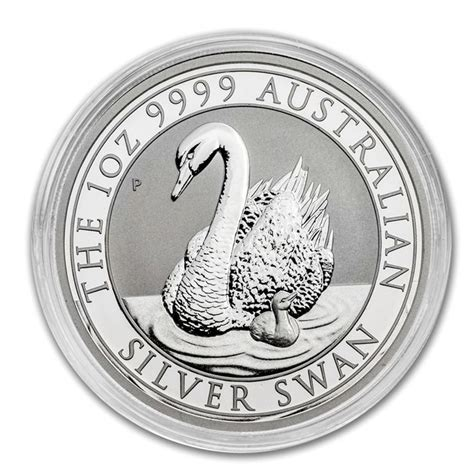 1 Oz Silver Swan Perth Mint - australia 1 aud 1 oz perth mint swan 2018 999