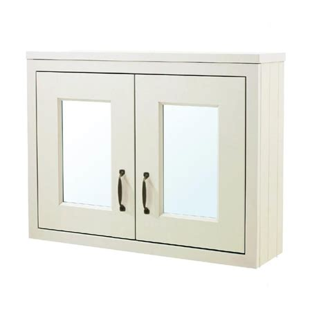 victorian bathroom mirror cabinet victorian style traditional mirrored wall cabinet in cream