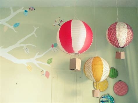 How To Make Paper Air Balloon Lantern - the joyeful journey diy paper lantern air balloons