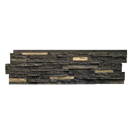 genstone stacked 1 5 in x 11 25 in kenai faux