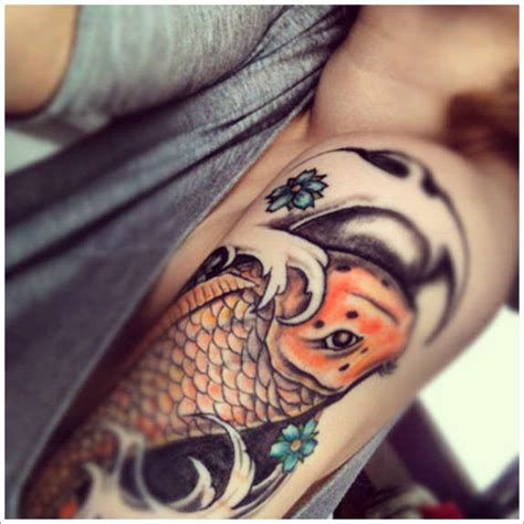 koi tattoo meaning family 116 nice fish koi tattoos images with meaning
