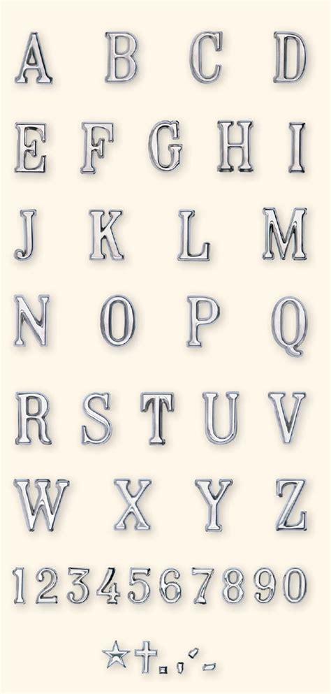 lettere romani lettere e numeri romano acciaio caratteri per lapidi