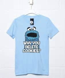 why you delete cookies mens funny t shirt 8ball t shirts