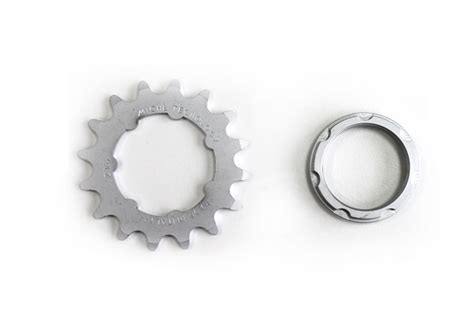 Fixie Teeth santa fixie 16 teeth silver miche fixed cog sprocket with