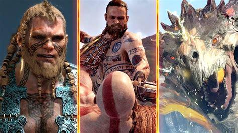 god of war le film en francais god of war 4 ps4 todos los jefes bosses y final del
