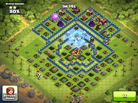 clash of clans best player clash of clans my attack video 100 from the base like
