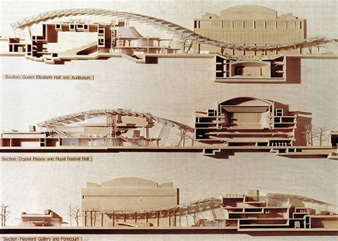 section model architecture richard rogers partnership l arca 94 june 1995 33 rndrd