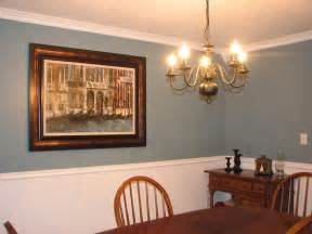 Pics photos painting dining room with chair rail with