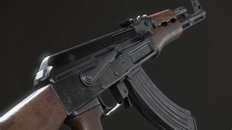 animated ak assault rifle fps weapons pack  ironbelly studios   weapons ue marketplace