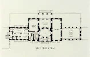 georgian mansion floor plans plan detail