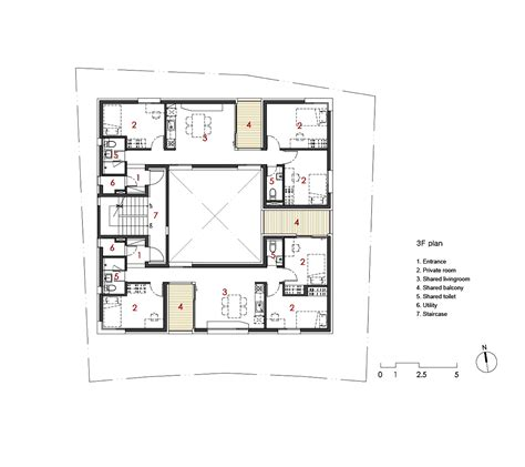 Apartment Floor Plan gallery of gap house archihood wxy 30