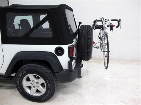 Jeep Bike Racks by 2015 Jeep Wrangler Yakima Sparetime 2 Bike Carrier Spare
