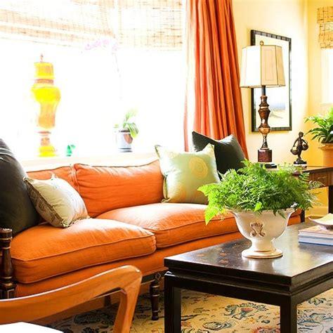 Orange Sofa Living Room Ideas Best 25 Orange Sofa Ideas On Orange Sofa Inspiration Orange Living Room Sofas And
