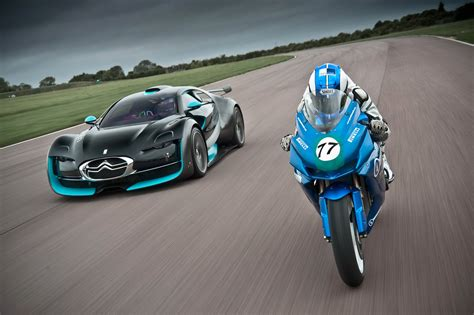 Motorrad Kfz by Race Agni Z2 Vs Citroen Survolt Auto Car