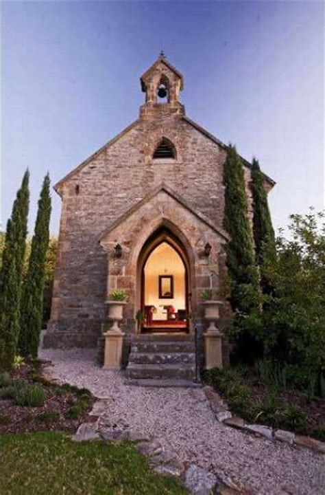small church conversion creates modern house