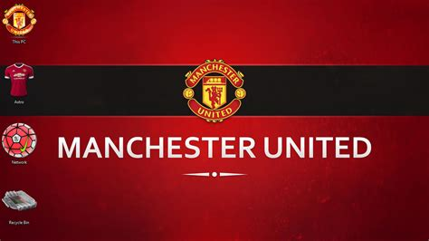 manchester united themes for windows 10 manchester united theme for windows 10 8 7