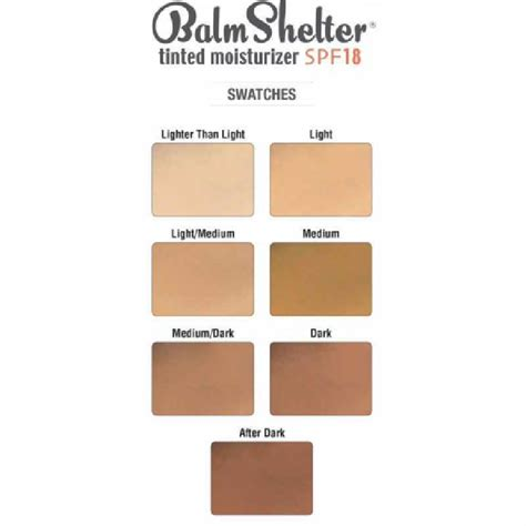 The Balm Shelter Tinted Moisturizerlight Thebalm Balm Shelter Tinted Moisturizer Spf 18 64 Ml Light