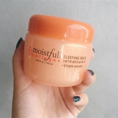 Etude Sleeping Pack etude house moistfull collagen sleeping pack review