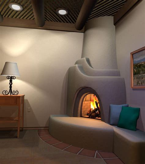 1000 ideas about southwestern outdoor fireplaces on