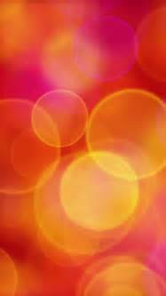 pinkish orange color orange pink yellow circles iphone wallpaper color