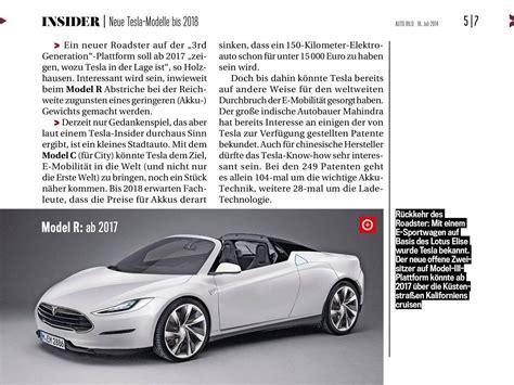 tesla model r tesla model r roadster successor 2017 products images