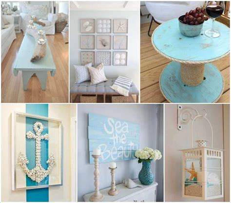 Cheap Cool Home Decor by 50 Amazing Diy Nautical Home Decor Projects