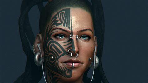 fantasy tattoo girl wallpaper tattoo full hd wallpaper and background 1920x1080 id