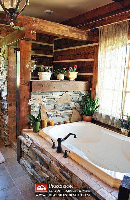 Log Home Bathroom Ideas by 1000 Ideas About Rustic Bathroom Shower On