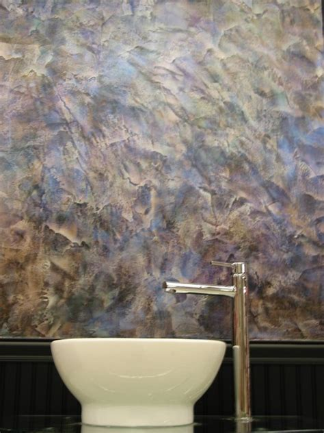 bathroom wall finishes wall finishes contemporary bathroom new york by