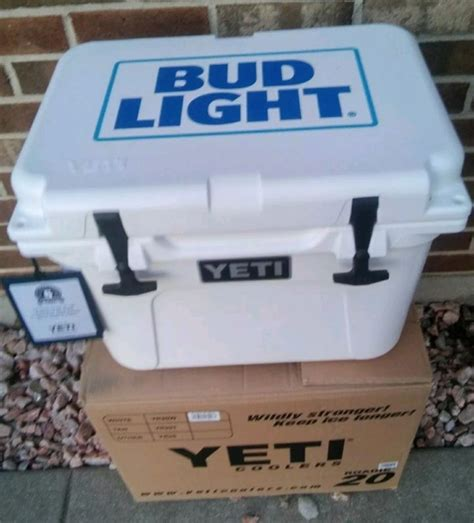 bud light recliner with cooler bud light chest shop collectibles daily