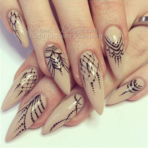 detailed nail designs 752 best stiletto nails nail trends nail art images on