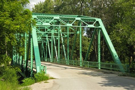 Carroll County Indiana Records An Illustrated History Of The American Road Bridge Part 2 The Road