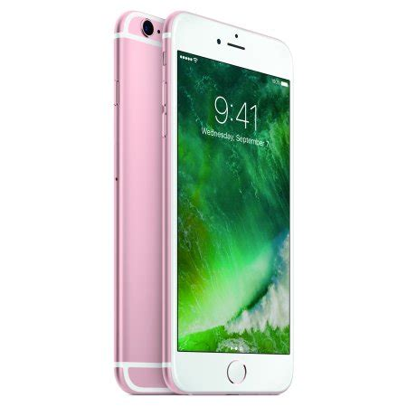 total wireless apple iphone 6s plus 32gb prepaid smartphone gold walmart