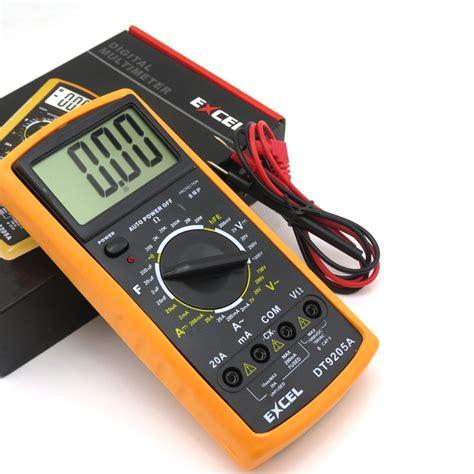 Ohm Meter Digital 9205 Lcd Screen Digital Multimeter Volt Ohm Meter Ammeter