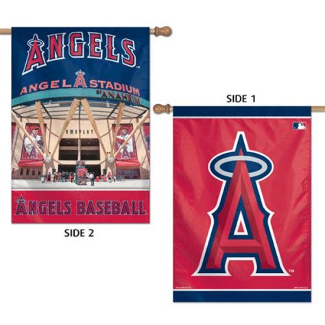 double sided house flags los angeles angels double sided house flag your los angeles angels double sided house