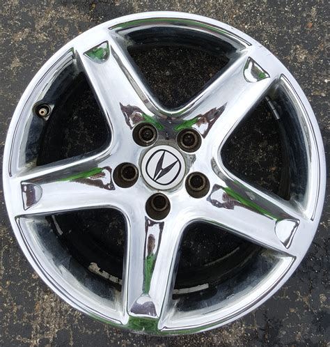 acura tl chrome wheels sold 17 quot oem chrome wheels 2004 6mt tl acurazine