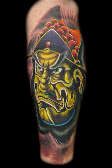kabuki warrior tattoo designs kabuki warrior picture