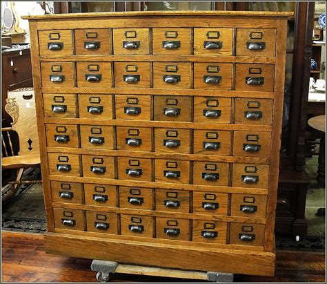vintage card file cabinet vintage library card file cabinet with map rustic storage