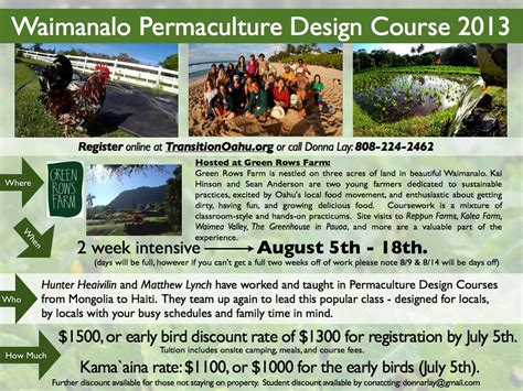 permaculture design certificate jobs 8 5 8 18 permaculture design course waimanalo