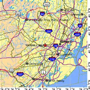Vauxhall Zip Code Vauxhall New Jersey Nj Population Data Races
