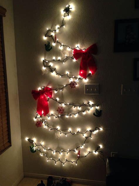 christmas tree made of lights little christmas tree made of lights christmas trees