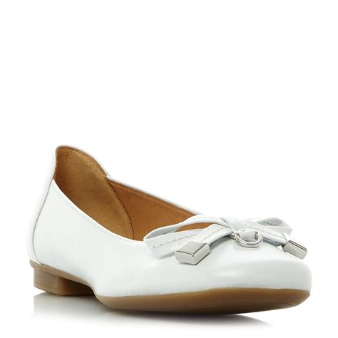 gabor flat shoes gabor bow detail ballerina flat shoes octer 163 42 00