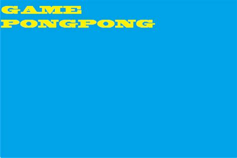 Meja Pingpong Tournament cara membuat pingpong dengan html smk insan mandiri