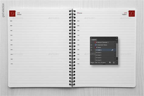planner organizer diary calendar by re start