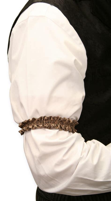 sleeve garter deluxe silk sleeve garters taupe one pair
