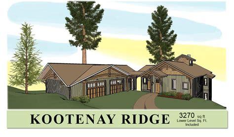 hybrid timber frame home plans hamill creek timber homes mid sized timber frame home plan kootenay ridge hamill